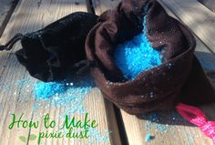 How to Make Pixie Dust for pirate fairy Fairy Birthday Party, Girl Birthday, Birthday Parties, Cosplay Tutorial, Cosplay Diy, Ben Y Holly, Pirate Fairy, Hallowen Ideas, Party Fiesta