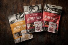 Dick Stevens Extreme Snacks via @The Dieline