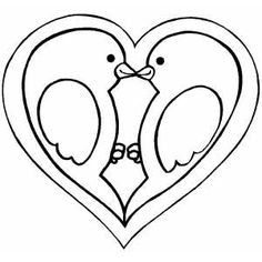 Heart Coloring Pages - Bing Images