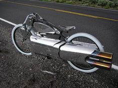 Pulse Jet Board Racer Bicycle  To understand it's majesty, watch http://youtu.be/O3V5qbVbNLM