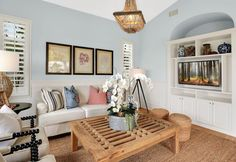 traditional family room by Blackband Design