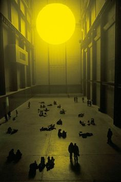 The Sun installation (2004) at the Tate Modern, London