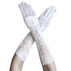 ZaZa Bridal Gorgeous Stretch Satin Gloves w/ Flower Pattern Lace & Pearls ZaZa Bridal http://www.amazon.com/dp/B008H4GYBU/ref=cm_sw_r_pi_dp_wBI9tb1S4HQTK
