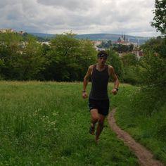 "Michal Dobeš při tréninku s ""pětiprstky"" FiveFingers Running, Blog, Keep Running, Why I Run, Blogging"