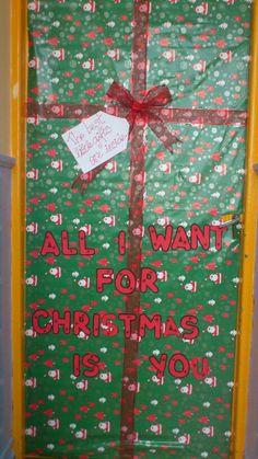 1000 images about navidad on pinterest noel ideas para for Como adornar puertas y ventanas en navidad