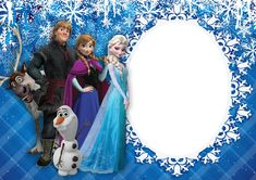Frozen frame Png - Free Icons and PNG Backgrounds Frozen Birthday Party, Frozen Birthday Decorations, Frozen Theme Party, 3rd Birthday Parties, Happy Birthday, Frozen Images, Frozen Photos, Foto Frozen, Frozen Cards