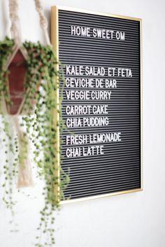 Panneau à Messages Vintage // Hëllø Blogzine blog deco & lifestyle www.hello-hello.fr