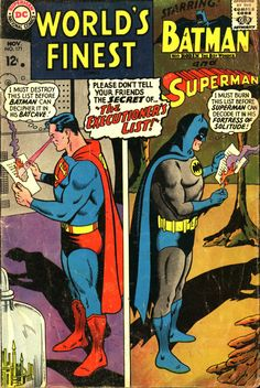 World's Finest (Vol. 1) #171 November 1967 Curt Swan