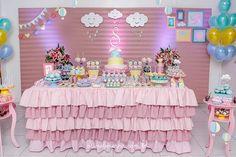 Sophia   Aniversário de 01 ano   Tema: Chuva de Bençãos   Aline Bezerra Fotografia de Recém-nascidos, Bebês e Crianças