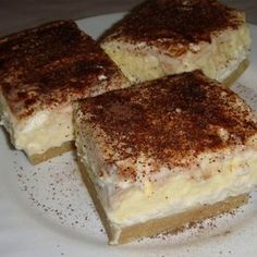 Hungarian Desserts, Hungarian Recipes, Hungarian Food, My Recipes, Sweet Recipes, Healthy Recipes, Cookie Desserts, Creative Food, Cake Cookies