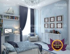 """Kids room design - If you are looking for a unique style of your home, office or public space - you are welcome to the company Luxury Antonovich Design! We will turn your image into reality! You can give us a call:  971 55 999 4994   971 54 757 9888   971 4 551 3144 Send us messages!  More images from portfolio """"Design of Children"""
