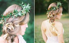 #coisinhasqueamamos: Coroa de flores  http://www.blogdocasamento.com.br/coisinhasqueamamos-coroa-de-flores/