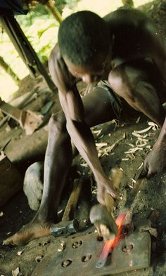 Blacksmith by bruce_geisert, via Flickr