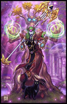 Druid Lethe #Warcraft