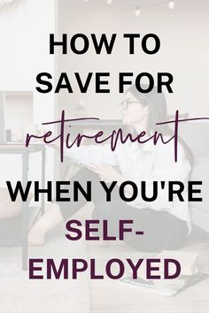 Data shows that entrepreneurs aren't saving enough for retirement. This article walks you through how to save for retirement when you're self employed. Saving For Retirement, Retirement Planning, Data Show, Financial Success, Blogging For Beginners, Make Money Blogging, Email Marketing, Read More, Entrepreneurship