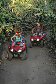 ATVing through the jungles of Cozumel