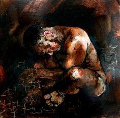 Head__bowed__30_x_30cm_oil_on_canvas Artist Profile, Oil On Canvas, Painting, Animals, Animales, Animaux, Painting Art, Paintings, Animal