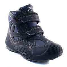 214A GEOX J5424D MARINE www.ouistiti.shoes le spécialiste internet de la chaussure bébé, enfant, junior et femme collection automne hiver 2015 2016
