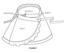 Image result for wrap around skirt pattern