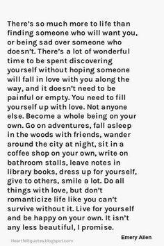 Inspiring life - inspiring soul - So very well said!  ...