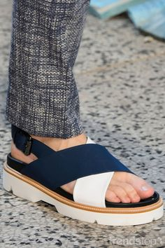 key footwear trends for Spring/Summer 2017 - Luxe pool slider