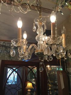 Bronze 5 bulb chandelier chateaucountrylace shabbychic clear glass 5 bulb chandelier chateaucountrylace shabbychic shopifypicks aloadofball Choice Image