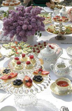 afternoon tea…