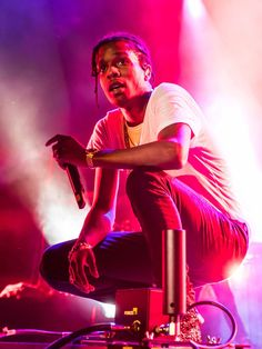 A$AP Rocky performs at Genting Arena in Birmingham, England. Tony Woolliscroft, WireImage