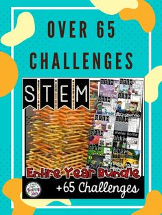 STEM for the Entire Year includes over 65 Challenges that will engage your students as they go through the engineering design process. Your students will learn to collaborate with their peers as they think critically and problem solve to complete seasonal STEM Challenges!