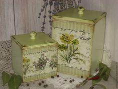 "The kitchen is handmade. Fair Masters - handmade. Buy Boxes ""Herbs"". Handmade. Green, grass"