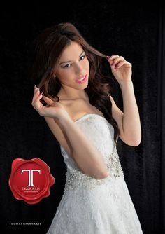 Wedding dress by Tranoulis Haute Couture Photo: Thomas Giannakis Model: Eirini Sterianou Lace Wedding, Wedding Dresses, One Shoulder Wedding Dress, Model, Fashion, Haute Couture, Mathematical Model, Moda, Bridal Dresses