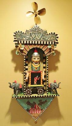 Tin and Robot Dolls - assemblage art Found Object Art, Found Art, Mixed Media Sculpture, Sculpture Art, Shadow Box Art, Assemblage Art, Recycled Art, Altered Art, Collage Art