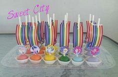Equestria Girls cakepops