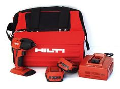 Hilti 03482619 SID 18-A CPC 18-volt Cordless Compact Impact Screwdriver with Soft Tool Bag and 1/4-Inch Hexagon Snap Chuck HILTI