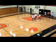 Elementary Through 5th Grade Basketball Drills and Team Concepts...inbounds play