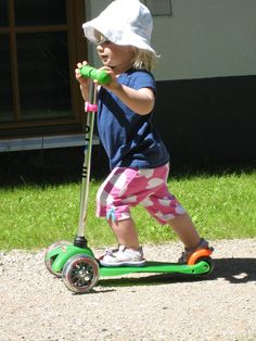 sunny scooting day