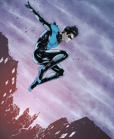 """Time moves on. You start a new life. Part of it's a defense mechanism. You don't want to be defined by the terrible thing that happened. You don't want to be hurt anymore. You want to be someone stronger. So you """"try on"""" different people.  (Nightwing #29)"""