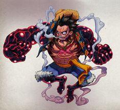 One Piece fan art. One Piece Gear 4, Zoro One Piece, One Piece Ace, One Piece Manga, Luffy Gear 4, One Piece Drawing, Avatar The Last Airbender Art, 0ne Piece, Monkey D Luffy