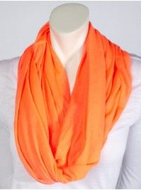 Solid Jersey Eternity Scarf