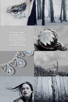 Winter Court part2 (edit by aly-naith) http://aly-naith.tumblr.com/post/136254443197/courts-of-prythian-aesthetic-winter-court