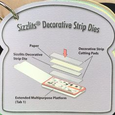Sizzix Tips #6 of 13 Sizzlits Decorative Strip Dies