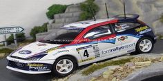 Rally Catalunya - Costa Brava 2002 Ford Focus RS WRC Sainz/Martí 1/43