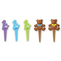 DecoPac 1st Birthday DecoPic Cupcake Picks (12 Count)