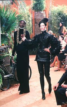 1998-99 - Galliano 4 Dior Couture show - Debra Shaw