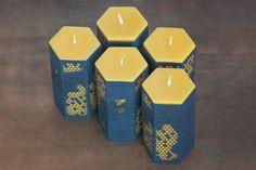 Actualité / De la véritable cire d'abeille / étapes: design & culture visuelle Retour aux sources avec ce packaging réalisé par l'agence créative américaine Angel Bomb pour la marque de bougies Worker