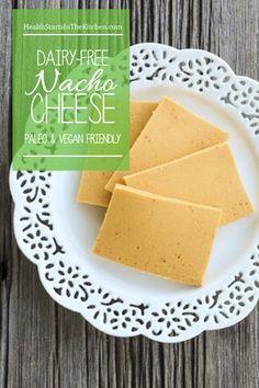 Dairy-Free, Paleo Nacho Zucchini Cheese - tastes just like cheese only dairy free!