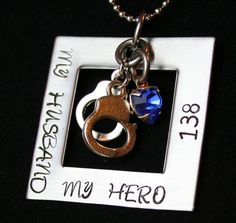 For all the Police wives out there! That is pretty cool. For when parker gets that far.