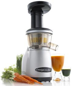 This is the juicer I have.  It was the most affordable and the best for the things it can do.  It even juices grass and leafy greens not heating them up to kill their enzymes. It even makes nut butters and juices cherries...with their pits!