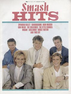 DURAN DURAN 1983  I had this issue...