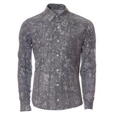 Camisa Casual - Floral Stone - Rich Outfit, Moda masculina para homens de estilo